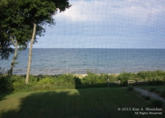 The view from my window, Ludington, Michigan