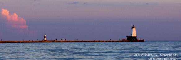 North Breakwater Lighthouse Ludington Michigan 8