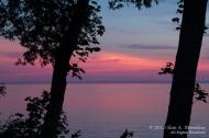 Sunset Ludington Michigan