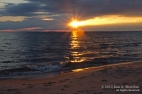 Sunset Ludington Michigan