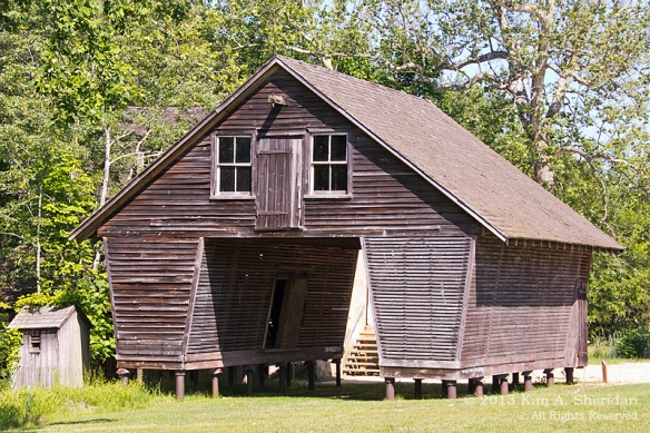 Pine Barrens Batsto Corn Crib_3218 a
