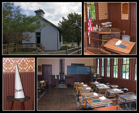 WPV Schoolhouse Collage