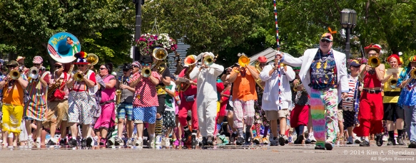 MI Parade 9 Scottville Clown Band_1744acs