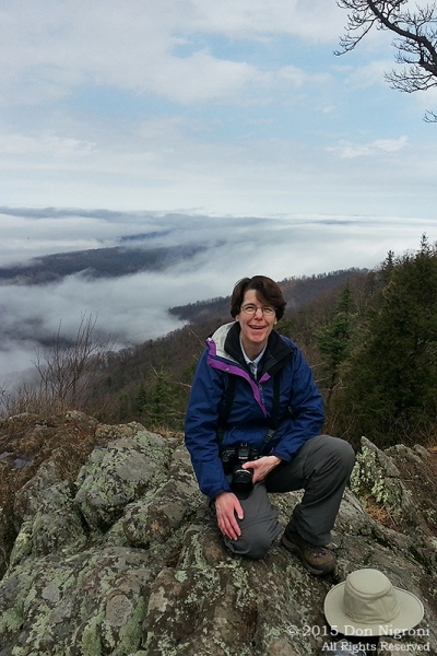 Day 2: On top of the world, young and naive. Shenandoah National Park.