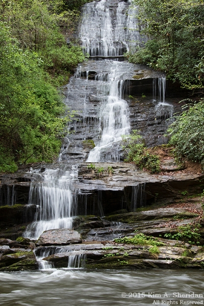 Tom Branch Falls, Deep Creek.