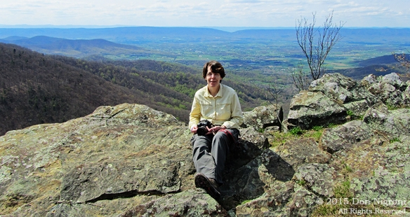 Day14: Back in Shenandoah National Park, older and wiser.